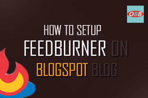 blogspot feedburner
