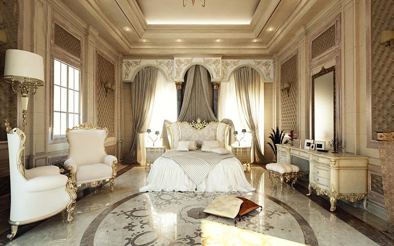 10 mẫu phòng ngủ phong cách Royal sang trọng và đẳng cấp nhất7