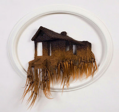 Unusual Designs and Products Created with Hair (15) 9