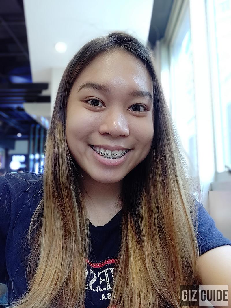 OnePlus 6 portrait selfie