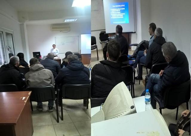 Έναρξη Μαθημάτων Πρώτων Βοηθειών στην Αστυνομική Διεύθυνση Θεσπρωτίας, σε συνεργασία με τον Ερυθρό Σταυρό