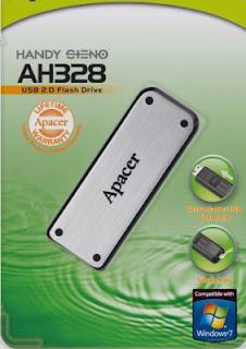 Apacer AH328 USB Flash Drive format tool