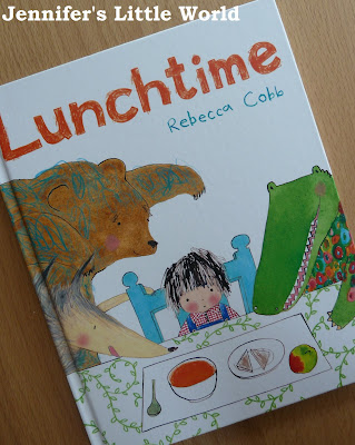 Book review - Lunchtime by Rebecca Cobb