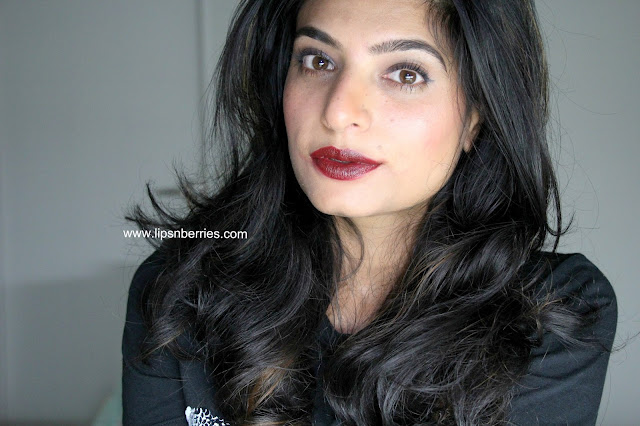 MAC James Kaliadros Jasper lipstick review