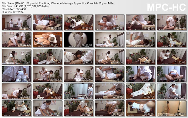 [RIX-051] Voyeurist Practicing Obscene Massage Apprentice Complete Voyeur