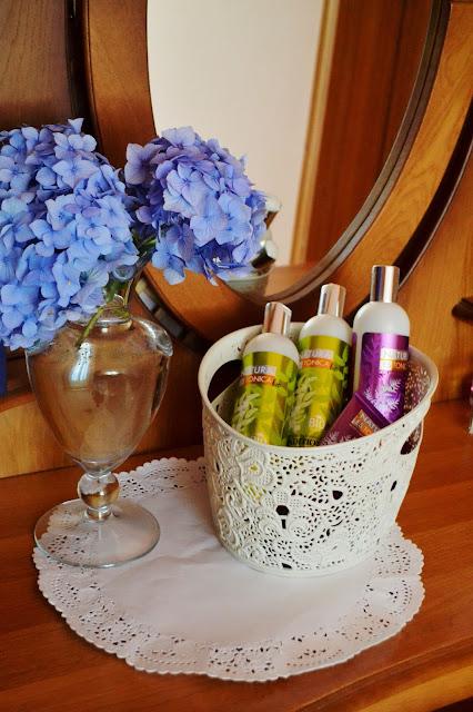 Natura Estonica Bio, balsam + szampon, symulacja wzrostu       I WYNIKI I
