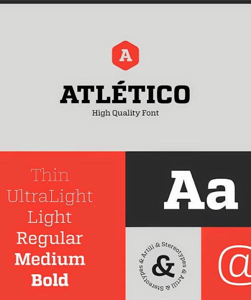 Günün Ücretsiz Fontu: Atletico (regular)
