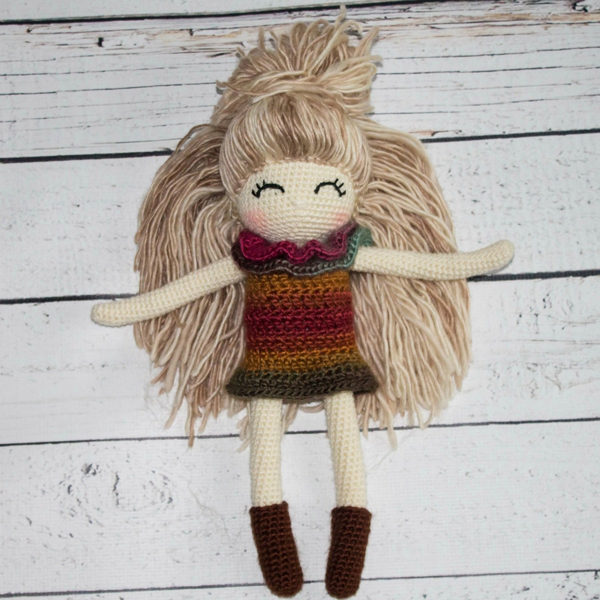 Crochet Doll Pattern Custom Decoration