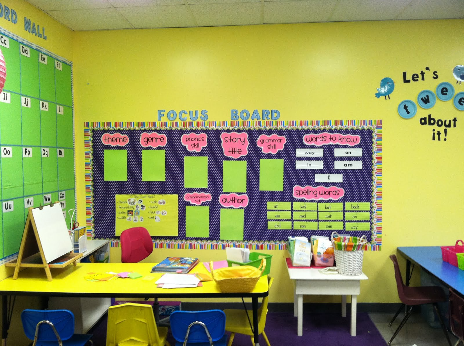 Life In First Grade The Importance Of Focus Boards