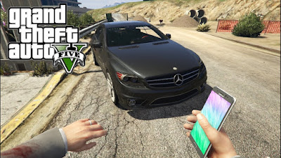 Samsung Galaxy Note 7 has been used as a weapon in GTA 5 game !