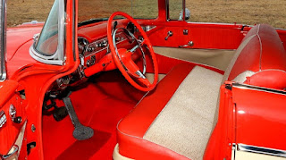 1956 Chevrolet Bel Air 4-Door Interior