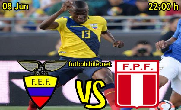 VER STREAM RESULTADO EN VIVO, ONLINE: Ecuador vs Perú