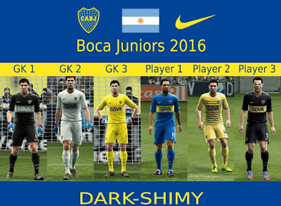 Boca Juniors 2016 update 4