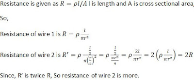 Extra Questions for Class 10th: Ch 12 Electricity Science