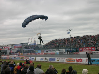 Santa Pod - Black Knights Parachute Display Team