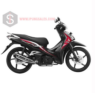 Honda-Supra-X-125-Helm-In-black-red