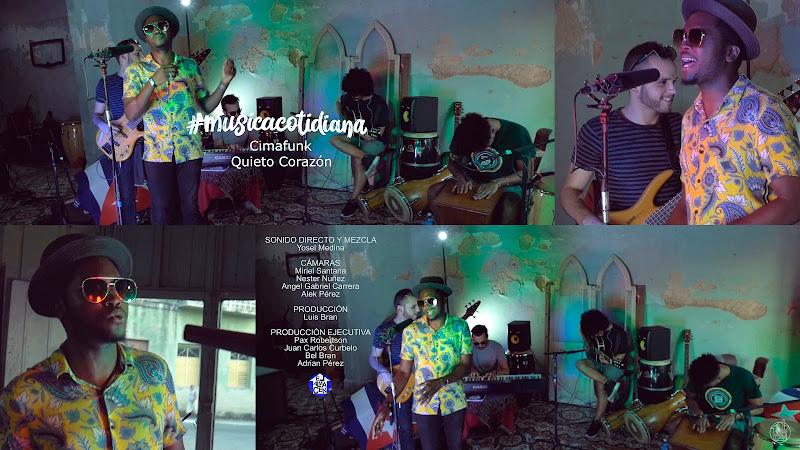 CIMAFUNK - ¨Quieto Corazón¨ - Videoclip - Dirección: Alek Pérez. Portal del Vídeo Clip Cubano