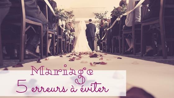 5 faux pas à éviter à un mariage!