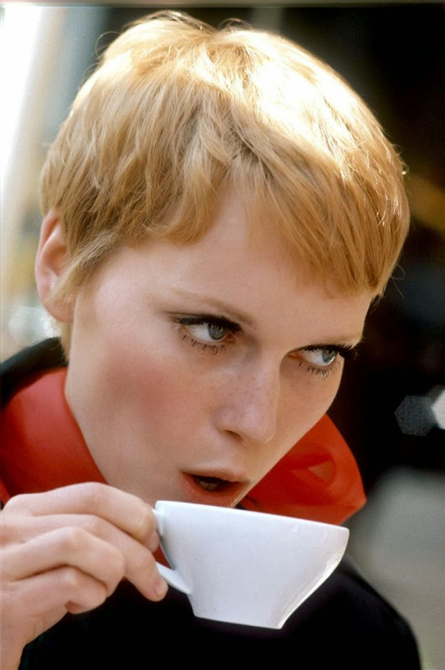 30 Beautiful Portraits of Mia Farrow With Pixie Haircut in the 1960s  vintage everyday