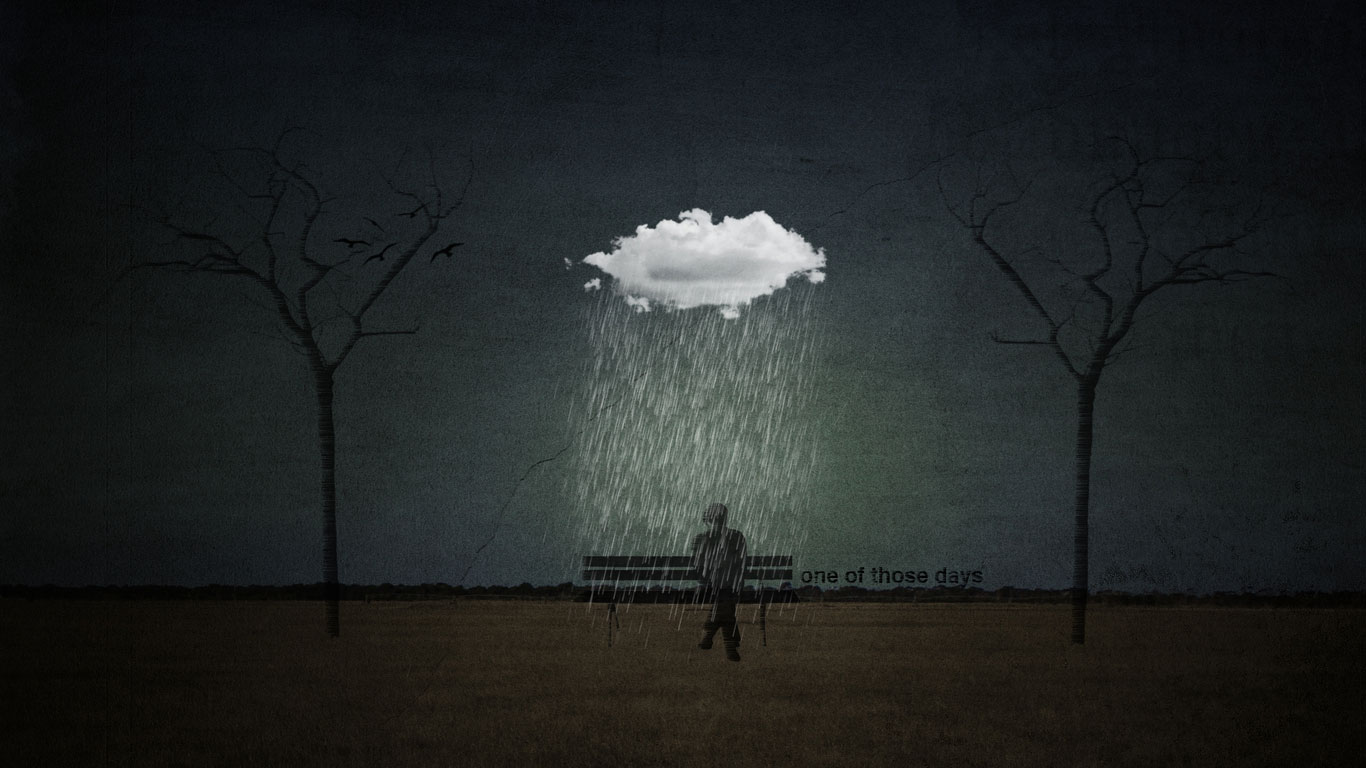 Dawn Rain Wallpaper