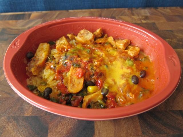 Chili's Chicken Fajita Rice Bowl