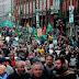 """Δεν άντεξαν μάλλον την """"έξοδο"""" από το μνημόνιο στην Ιρλανδία: Χιλιάδες διαδηλωτές στους δρόμους κατά των μέτρων λιτότητας [βίντεο] !"""