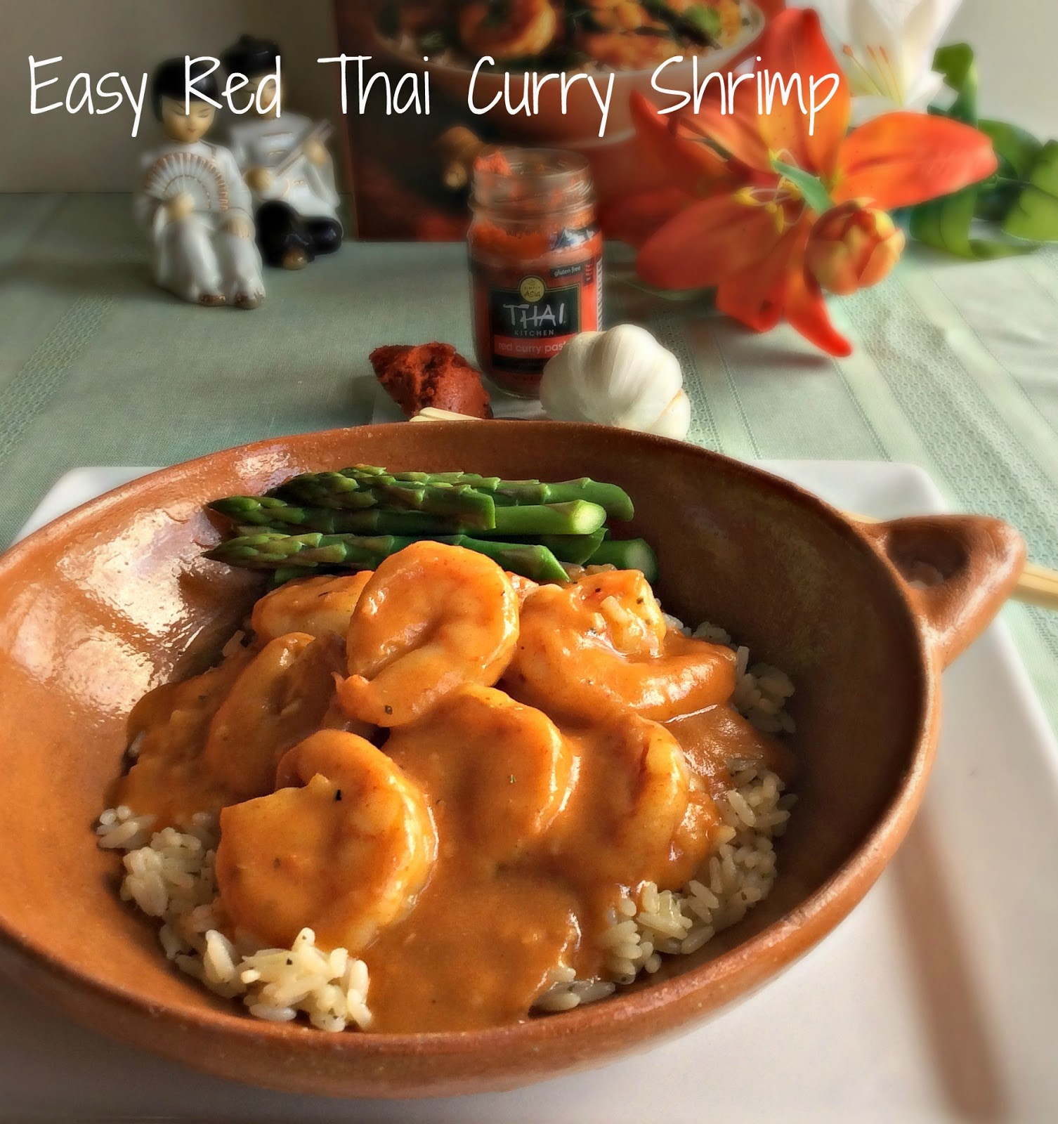 Easy Red Thai Curry Shrimp ~ it's a flavor sensation that your pallet ...