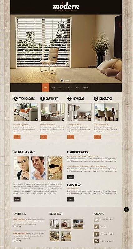 thiết kế website kiến trúc chuyên nghiệp