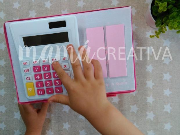 caja registradora carton