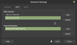 Mensetting Network di Linux Mint