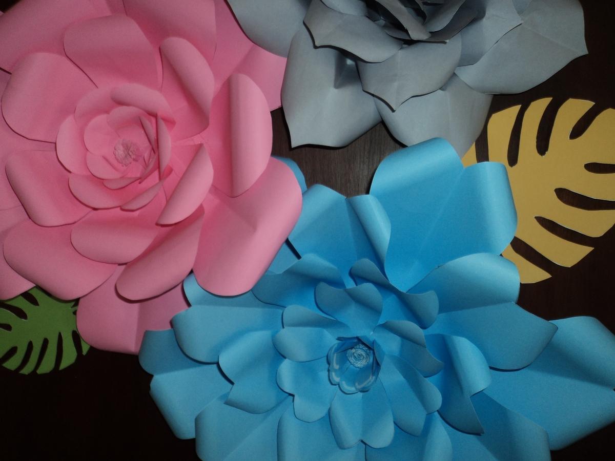 Moldes De Flores Gigantes Para Imprimir
