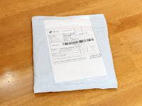 中華人民共和国より郵便で届きました。