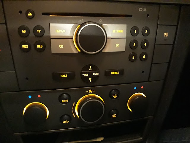 How to: Vectra C climate control settings