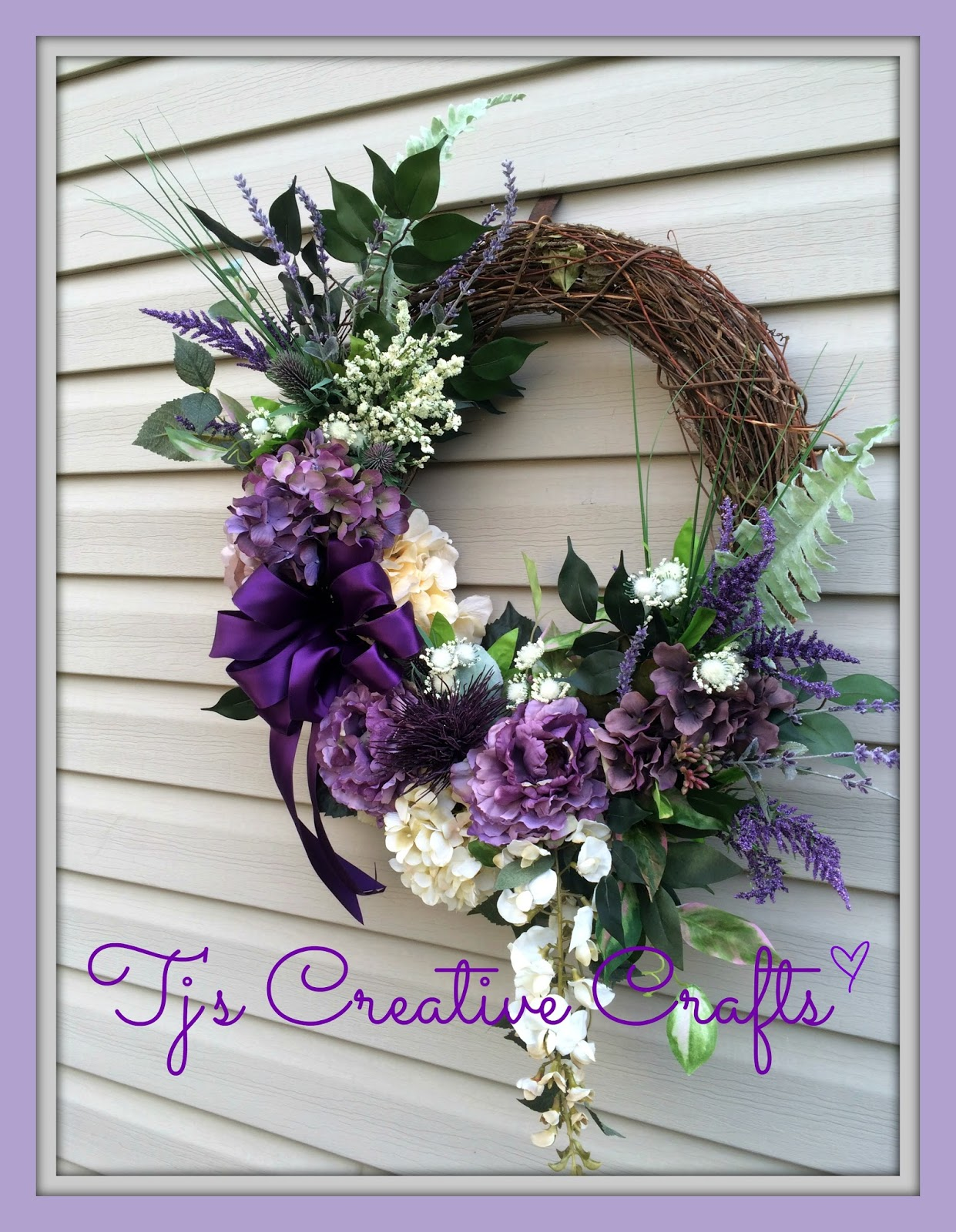 A Day In The Life with Tj: Victorian Spring Wreath