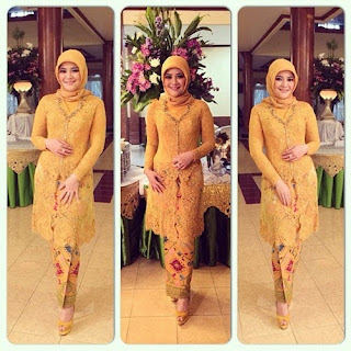 Kebaya Kartini Hijab Model Tradisional