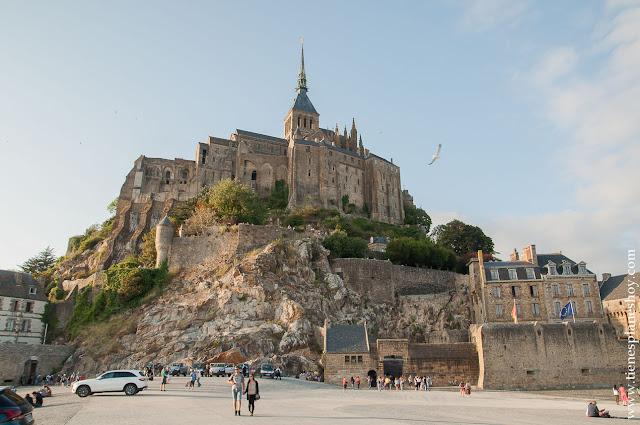 visitar  Mont Saint-Michel mareas diario viaje Normandia Bretaña