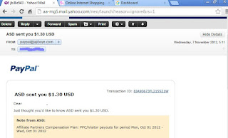 payment proof of ajiboye income
