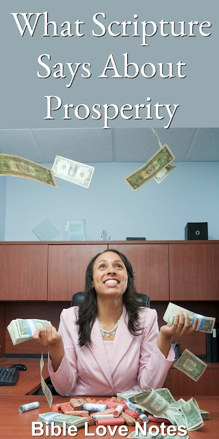 If you think wealth is a sign of faith, you haven't read these Scriptures. This 1-minute devotion offers a concise rebuttal to the prosperity Gospel. #BibleLoveNotes #Bible