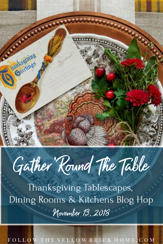 Gather 'Round the Table Thanksgiving Tablescapes