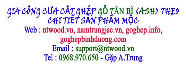 Gia công cưa cắt, ghép gỗ Tần Bì ASH theo chi tiết sản phẩm mộc
