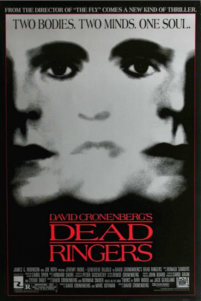 Poster of (18+) Dead Ringers 1988 720p Hindi BRRip Dual Audio Full Movie Download