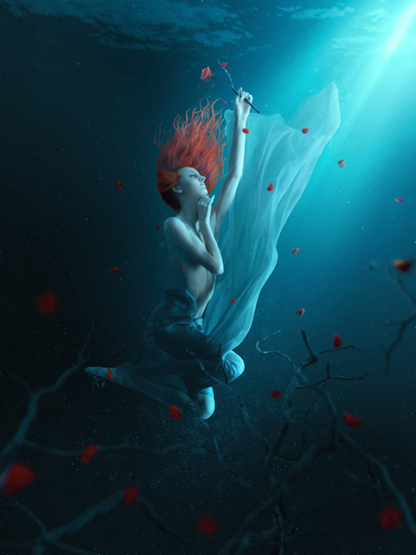 Fantasy Underwater Photo Manipulation by PSDFan