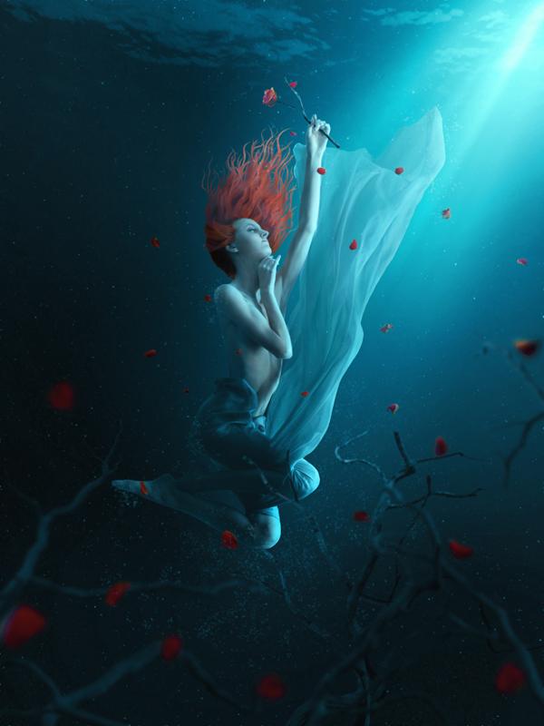 Fantasy Underwater Photo Manipulation by PSDFan