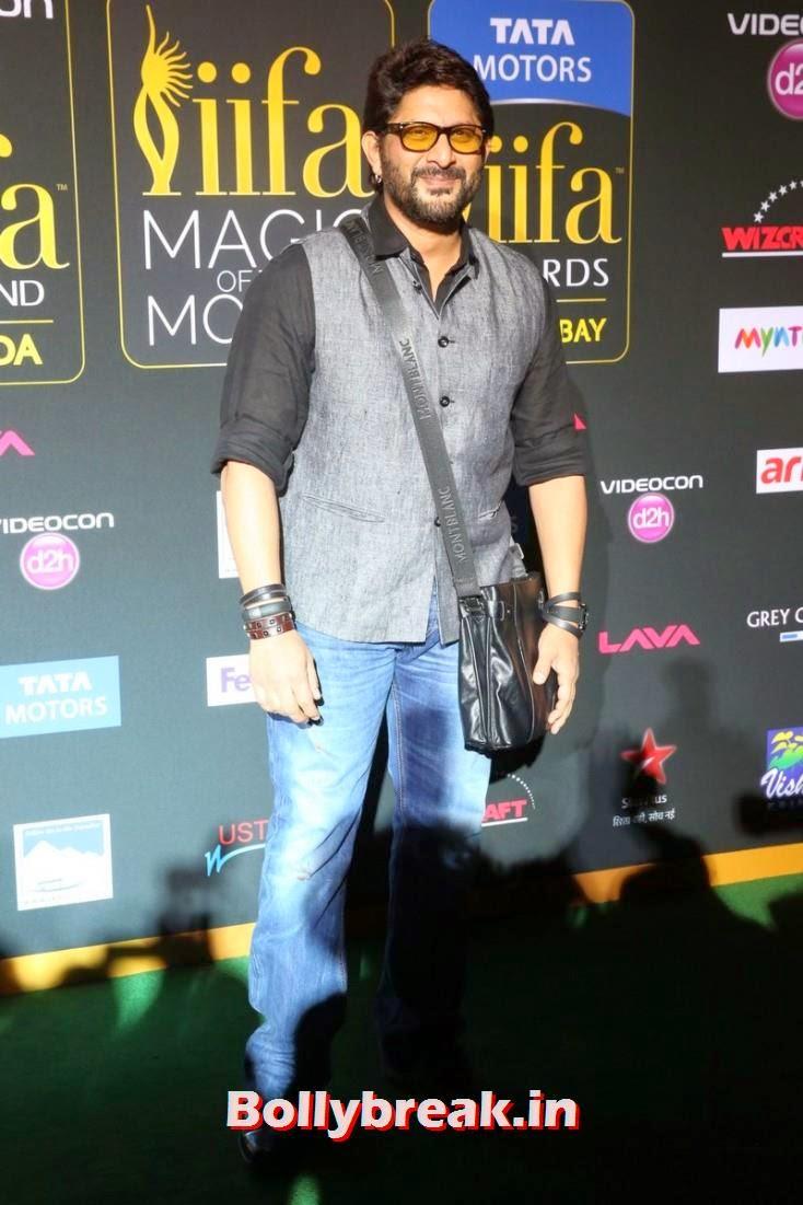 Arshad Warsi, Bollywood Celebs sizzle on IIFA 2014 Green Carpet Pics