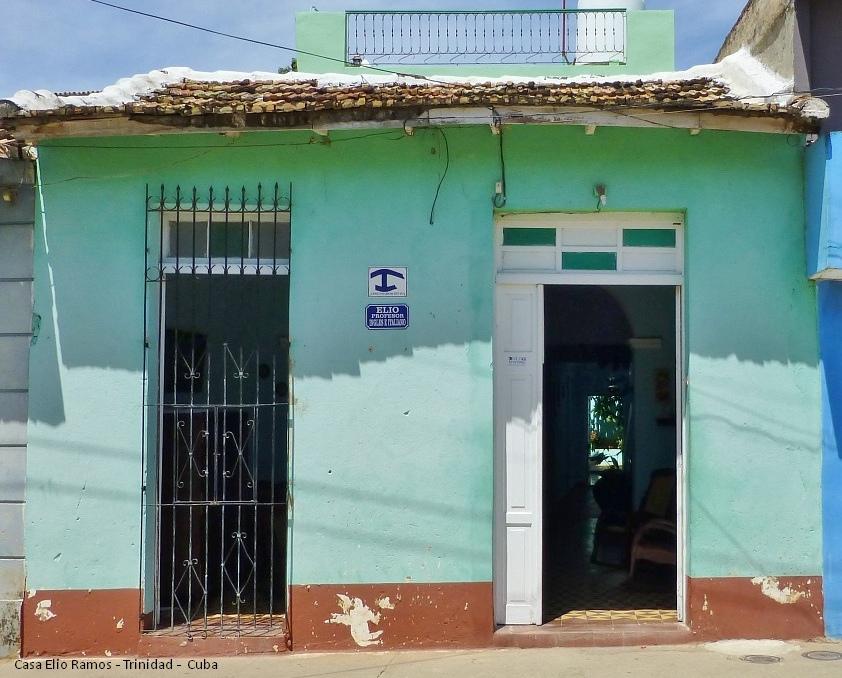 Casa Hostal Elio Ramos Entrance Trinidad -  Cuba
