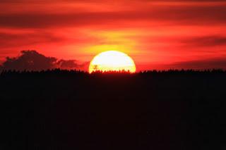 Zachód Słońca, Przyłęk, 2016.02.07.