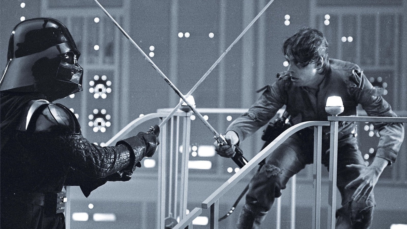 behind the scenes empire luke vader duel