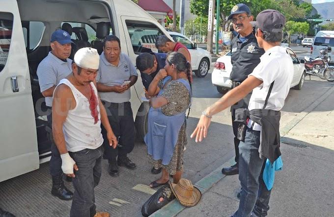 Un lesionado en violento asalto por 37 mil pesos