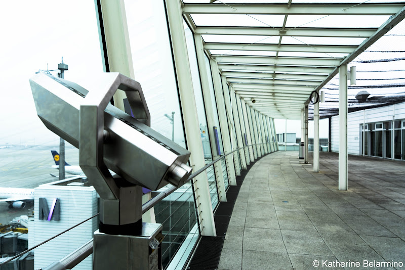 Visitors Terrace Munich Airport Long Layover Germany