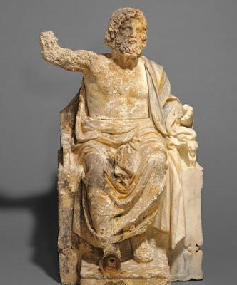 Το Getty επιστρέφει στην Ιταλία αγαλματίδιο του ένθρονου Διός